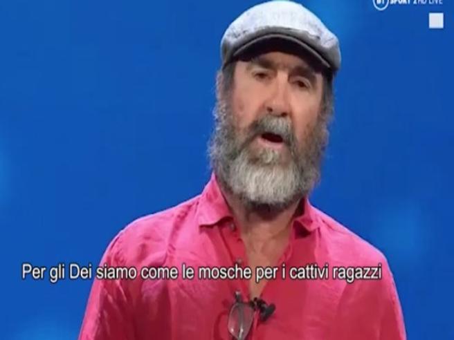 Eric Cantona Il Discorso E Imbarazzante Corriere Tv