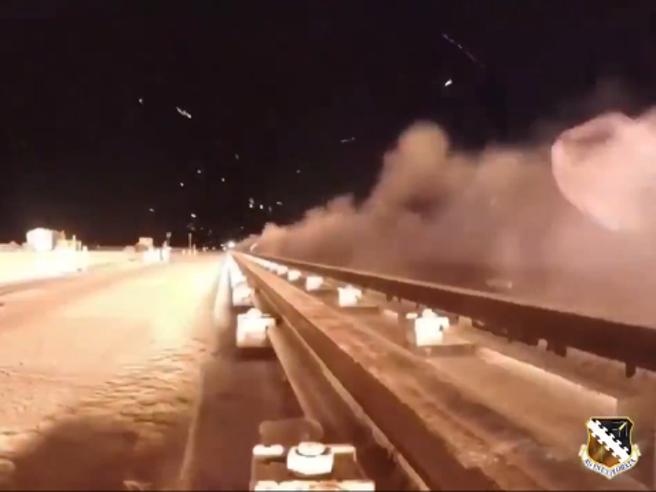 Razzo ipersonico a 10mila km orari: lo  slow motion per vederlo Video