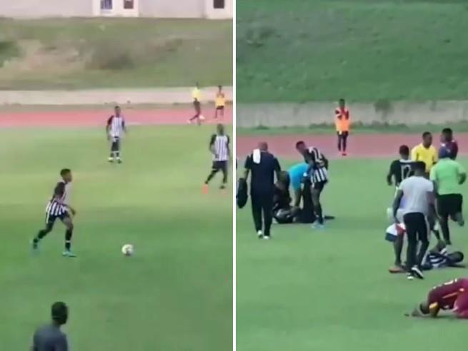 Giamaica, fulmine in campo colpisce due giocatori