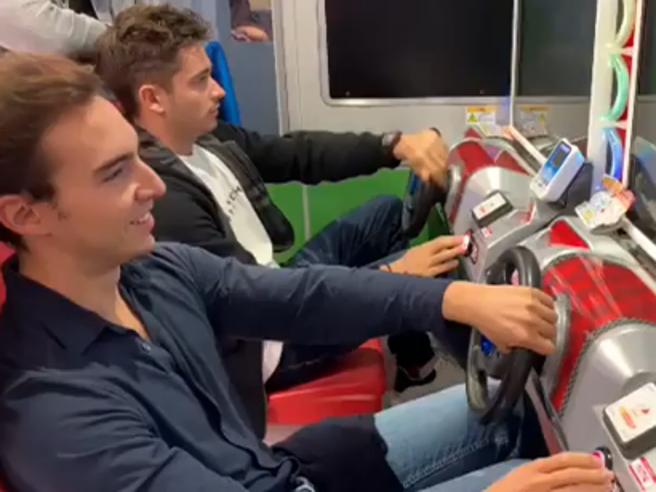 Formula 1, qualifiche rinviate in Giappone: Leclerc si allena in sala giochi