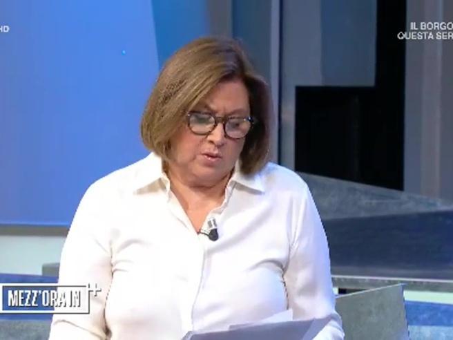 Siria, Lucia Annunziata si commuove: «Scusate, sono notizie insopportabili»