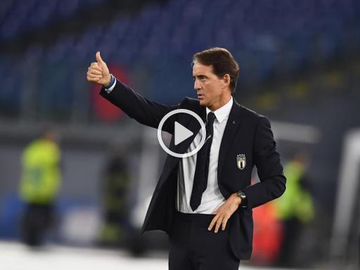 Italia-Grecia, Mancini: «Non siamo lontani dalle big europee»