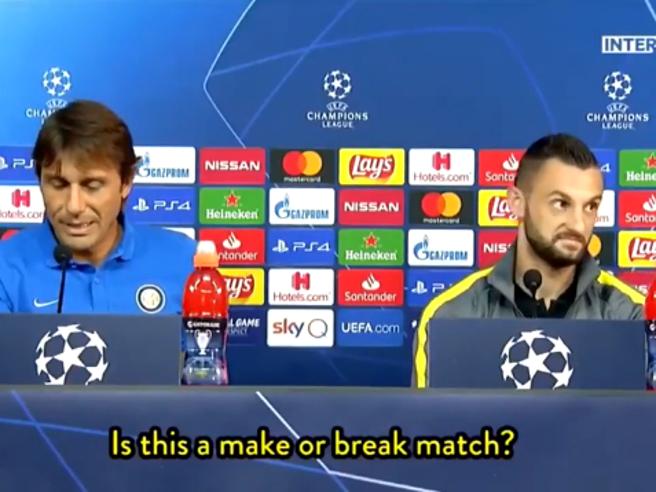 «Inter contro Borussia come una finale?» e Brozovic sbotta: «Ma che c...»