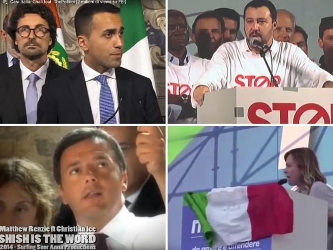Remix, video e parodie: quando lo sfottò social rende il politico «pop» Il video