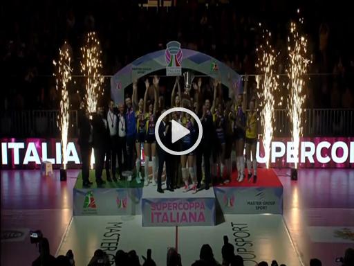 Conegliano vince la Supercoppa femminile - Corriere della Sera