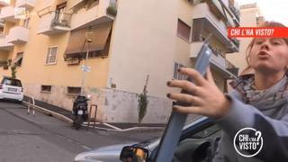 Omicidio Sacchi, a «Chi l'ha visto?» il video di Anastasiya che aggredisce una troupe del Tg2