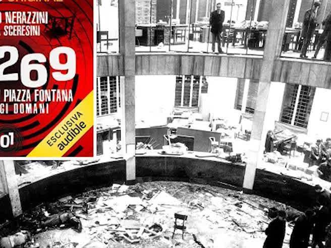 «121269», il podcast che racconta la strage di Piazza Fontana: ascolta la prima puntata integrale in anteprima