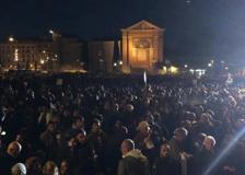 Le Sardine in Piazza San Giovanni a Roma