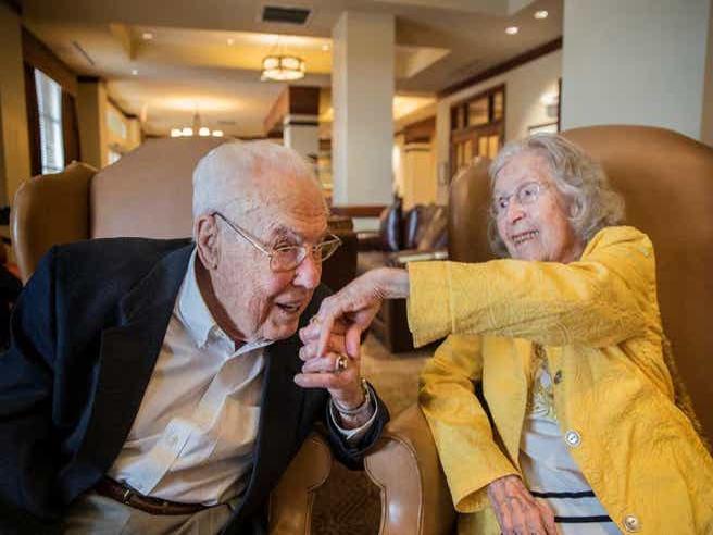 Anniversario Di Matrimonio Piu Lungo.La Coppia Piu Longeva Del Mondo Charlotte E John Sposati Da 80