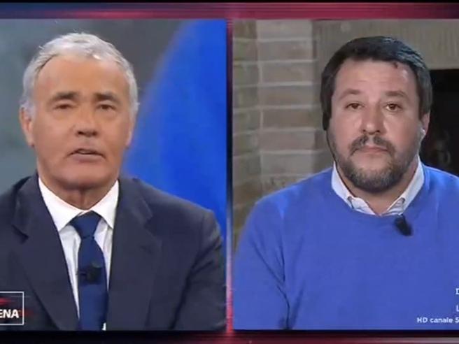 Sardine, Salvini: «Un errore aver ridicolizzato il ragazzo dislessico»