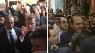 Macron come Chirac: si infuria contro gli agenti a Gerusalemme