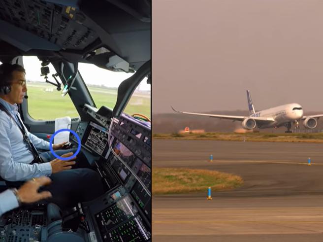 Airbus, l'aereo decolla da solo: lo stupore del pilota al comando del volo