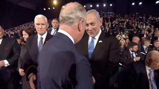 Il principe Carlo snobba il vicepresidente Usa Mike Pence