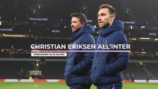 Christian Eriksen all'Inter: operazione da 20 milioni