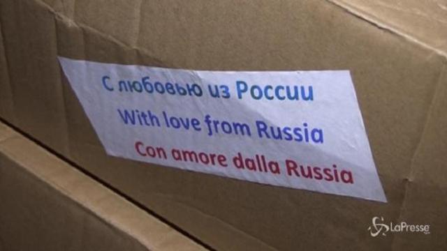 Coronavirus, arrivati in Italia aiuti dalla Russia - Corriere TV