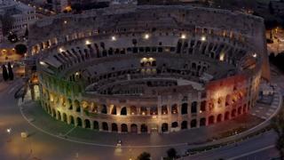 «Il nostro sogno: Roma tutta tricolore vista dall'alto con il drone». Le immagini spettacolari mai viste