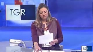 Morte del piccolo Diego, la commozione in diretta della giornalista