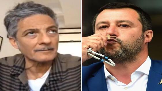 Coronavirus, Fiorello su Salvini: «Chiese aperte a Pasqua? Sarebbe un errore»