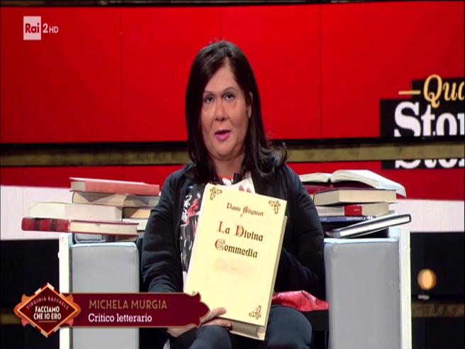 Virginia Raffaele nei panni di Michela Murgia presenta la Divina Commedia