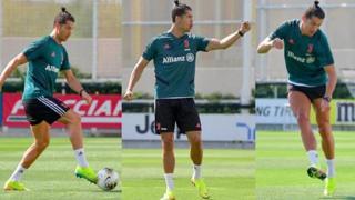 Il canestro di Cristiano Ronaldo. E poi il «Siuu»