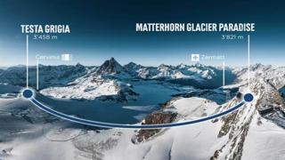 In funivia dall'Italia alla Svizzera: ecco la traversata record a 3.800 metri