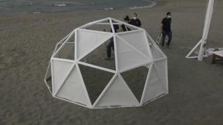 Fase 2, ecco la prima «cupola» per andare al mare