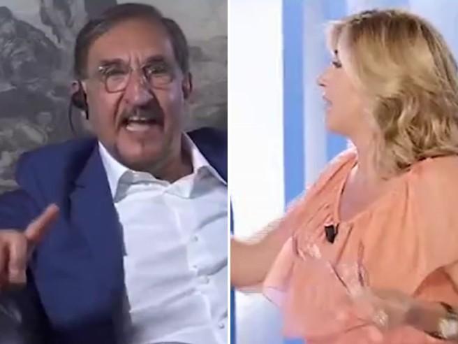 La Russa sbotta con Myrta Merlino: «Non mi fai parlare, sarò scomodo. Se vuoi me ne vado»