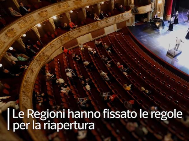 Discoteche, cinema e teatri: le regole per la riapertura