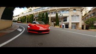 F1, Leclerc sfreccia per le strade di Monaco nel film 'Le grand rendez-vous'