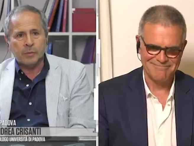 Coronavirus, Crisanti a Zangrillo: «Lo stimo ma non dobbiamo abbassare la guardia»
