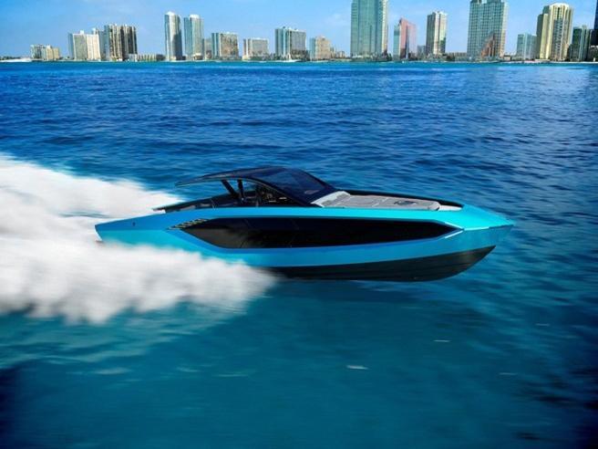 Ecco lo yacht (super esclusivo) Lamborghini da 4.000 cavalli di potenza