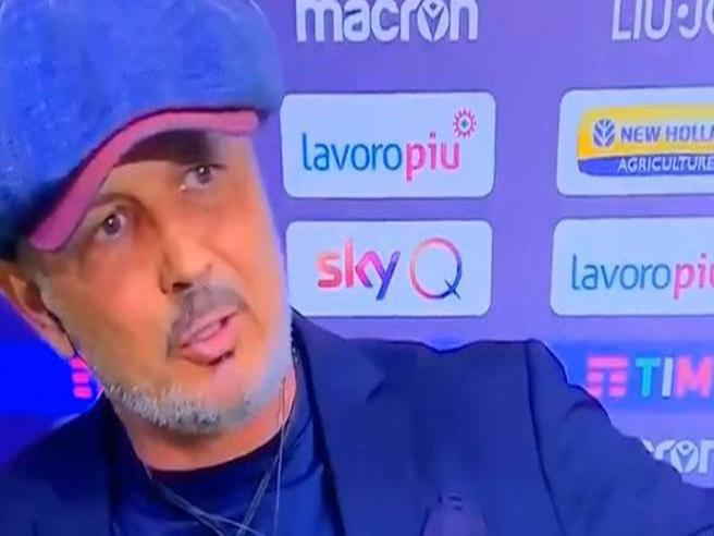 Mihajlovic non risponde a Sky: «Sembrate Inter Channel, nemmeno una parola sul Bologna»
