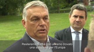 Vertice Ue, Orban: «Siamo con gli italiani, l'Olanda è responsabile di questo caos»