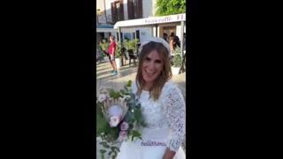 Caterina Balivo, la sorella Sarah si sposa