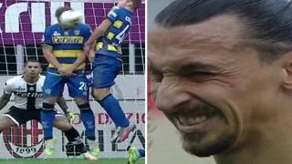 Ibrahimovic a Gagliolo dopo la pallonata in faccia: «Ti ho visto dormire e ti volevo svegliare»