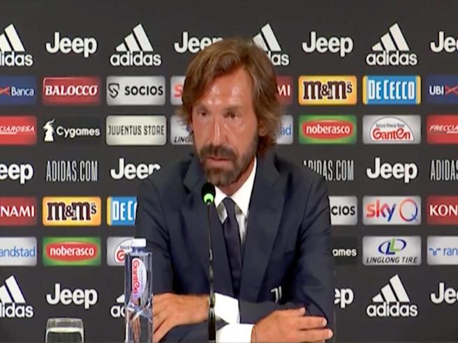 Pirlo, pochi giorni fa la presentazione da allenatore della Juventus Under 23