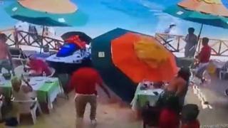 Messico, la moto d'acqua fuori controllo piomba sul ristorante: un morto e due feriti
