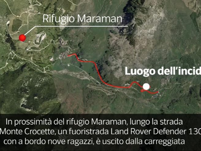 Ecco cosa è successo a Castelmagno: la ricostruzione dell'incidente in 3D