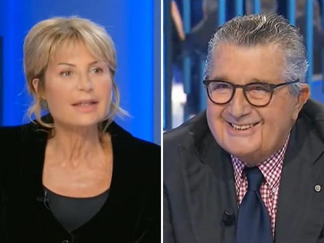 Botta e risposta tra Gruber e De Benedetti: «Berlusconi' La interrompo, auguri»