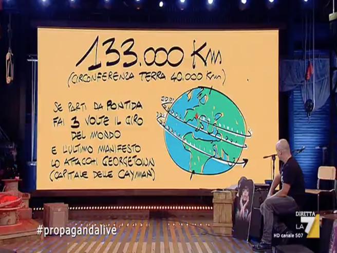 I 49 milioni della Lega spesi in manifesti? I calcoli di Makkox a Propaganda Live
