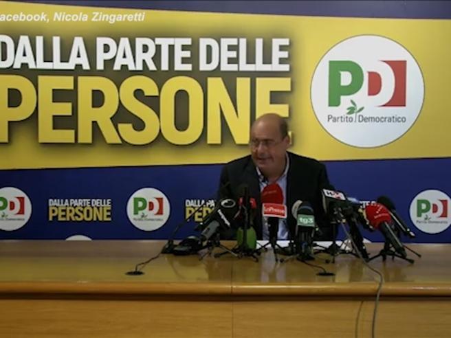 Regionali, Zingaretti: «Se gli alleati ci avessero dato retta, avremmo vinto quasi tutte le regioni italiane»