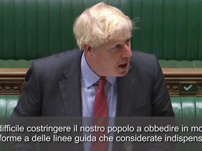 Covid, Boris Johnson: «In Italia le cose vanno meglio? Perché in Gran Bretagna amiamo la libertà»
