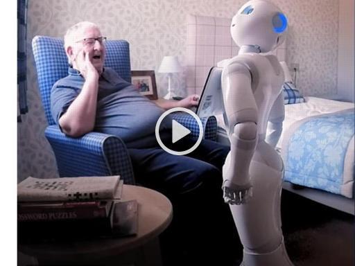 Anziani meno soli (e a proprio agio) con il robot-badante che li «capisce»