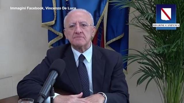 Coronavirus De Luca Con Mille Casi E Duecento Guariti Al Giorno Sara Lockdown Corriere Tv