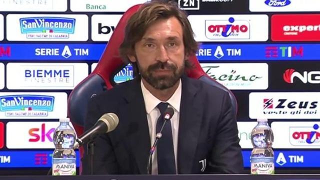 Crotone-Juventus, Pirlo: «Due punti persi, ma il pareggio ci stava» -  Corriere TV