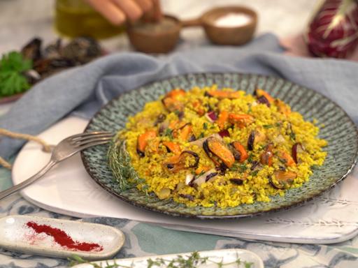 La ricetta del bulgur alle cozze