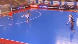 Futsal, il pallonetto volante di Shimizu