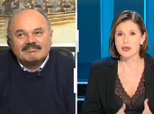 Bianca Berlinguer, tra me e Mauro Corona c'è tanto affetto invece con Franco Di Mare …