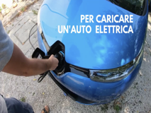 In giro per il Belpaese con l'auto caricata dai pannelli solari di casa