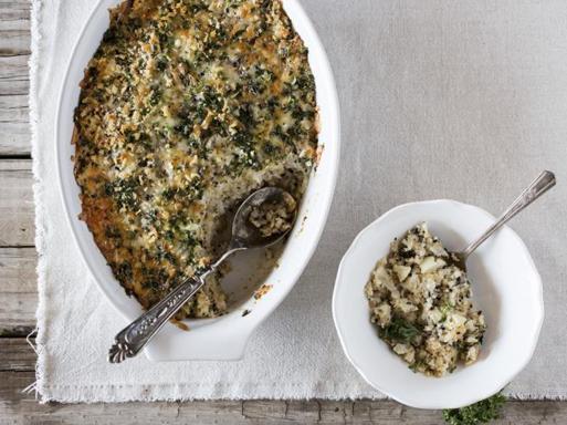 La ricetta autunnale del polpettone di verdure al cavolfiore